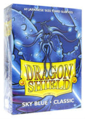 Dragon Shield Classic - Japanese size - Sky Blue - 60 ct