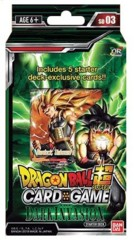 Dragon Ball Super Collectible Card Game Cross Worlds Series 3 Dark Invasion Starter Deck DBS-SD03