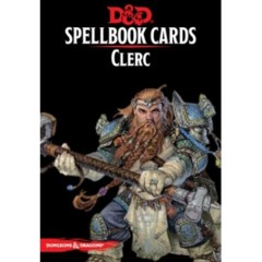 Dungeons & Dragons 5e Éd. : Spellbook Cards - Clerc (FR)