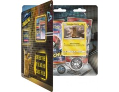 Detective Pikachu Case File + 3 Booster Pack + A Promo Card + A Metallic Coin