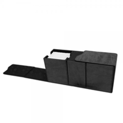 Alcove Vault Deck Box- Suede Black