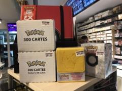 Pokemon 300 card lot with bonus Pokemon EX or GX