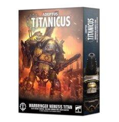 Adeptus Titanicus: Warbringer Nemesis Titan w/ Quake Cannon Volcano Cannon & Laser Blaster