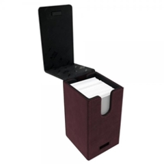 Alcove Tower Deck Box- Suede Red/Ruby