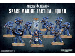 40K NEW SPACE MARINE TACTICAL SQUAD