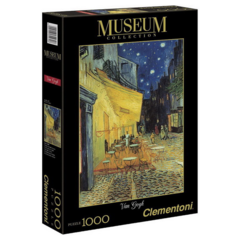 PUZZLE 1000 CLEMENTONI - VAN GOGH CAFE TERRACE AT NIGHT