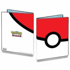 BINDER 9PKT PKM POKEBALL