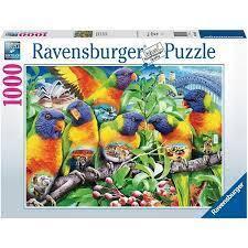 PUZZLE 1000 RAVENSBURGER LAND OF THE LORIKEET