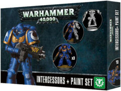 40K INTERCESSORS + PAINT SET