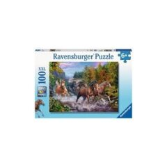 PUZZLE 100 RUSHING RIVER HORSES