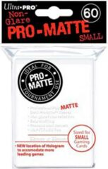 White Matte - Ultra Pro Card Sleeves - Small Sized (60 pack)