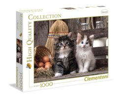 PUZZLE 1000 CLEMENTONI LOVELY KITTENS