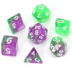 HD DICE 7 BLEND CLEAR VIOLET G