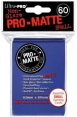 Blue Matte - Ultra Pro Card Sleeves - Small Sized (60 pack)