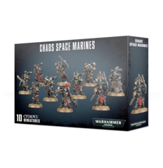 40K CHAOS SPACE MARINES