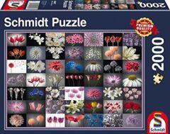 PUZZLE 2000 SCHMIDT FLORAL GREETING