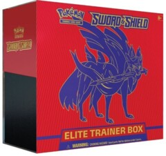 ELITE TRAINER SWORD & SHIELD ZACIAN