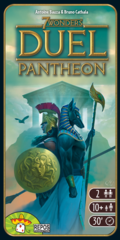 7 WONDERS DUEL PANTHEON FRANCAIS