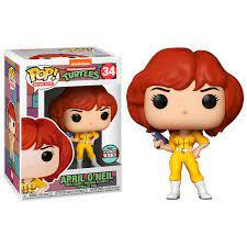 POP TMNT APRIL O'NEIL