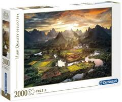 PUZZLE 2000 CLEMENTONI VIEW OF CHINA