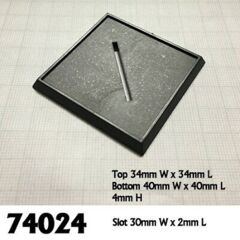 40MM SQUARE PLASTIC