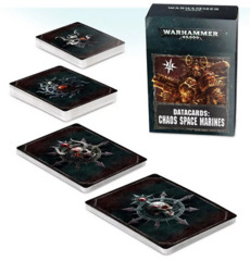 40K CHAOS SPACE MARINE CARDS