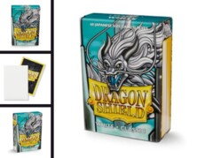 White - Dragon Shield Card Sleeves - Small Sized (60-Pack)