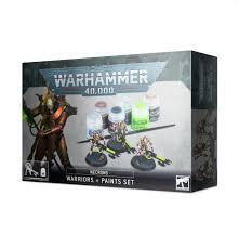 40K NECRONS + PAINTS SET