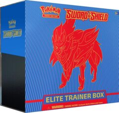 ELITE TRAINER SWORD & SHIELD ZAMAZENTA