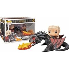 GOT DAENERYS & FIERY DROGON
