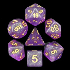 HD DICE 7 IRIDESCENT PURPLE