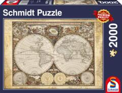 PUZZLE 2000 SCHMIDT HISTORICAL MAP