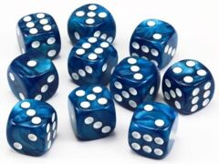 HD DICE 12D6 PEARL BLUE