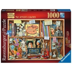 PUZZLE 1000 RAVENSBURGER THE ARTIST'S CABINET