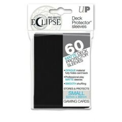 Black - Eclipse Ultra Pro Card Sleeves - Small Sized (60 pack)
