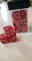 12 X D6 GK WITH DICE