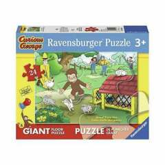 PUZZLE 24 CURIOUS GEORGE FUN