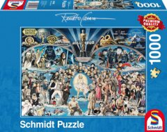 PUZZLE 1000 SCHMIDT HOLLYWOOD THE UNIVERSE OF GLORY