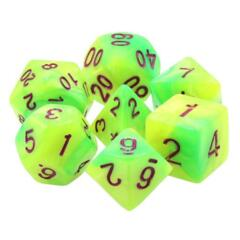HD DICE 7 BLEND YELLOW GREEN