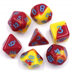 HD DICE 7 BLEND RED YELLOW