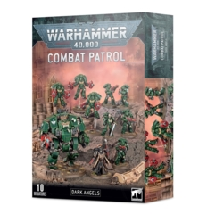 40K SPACE MARINES DARK ANGELS COMBAT PATROL