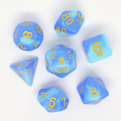 HD DICE 7 BLEND BLUE SKY BLUE