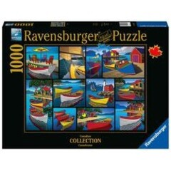 PUZZLE 1000 RAVENSBURGER ON THE WATER