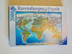 PUZZLE 2000 WORLD MAP
