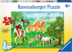 PUZZLE 60 HORSE MEADOW