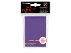 Purple Matte - Ultra Pro Card Sleeves - Small Sized (60 pack)