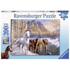 PUZZLE 200 WINTER HORSES