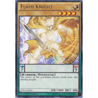 Flash Knight - DEM4-EN003 - Common - Unlimited Edition