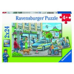 PUZZLE 2x24 POLICE AT WORK