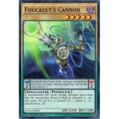 Foucault's Cannon - DEM4-EN001 - Common - Unlimited Edition